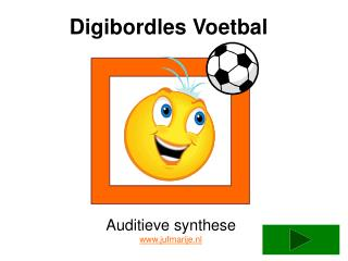 Digibordles Voetbal