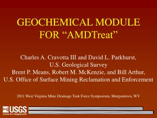 GEOCHEMICAL MODULE  FOR  AMDTreat