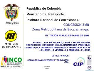 ESTRUCTURADOR  CONSULTORIAS INVERSIONES Y PROYECTOS LTDA