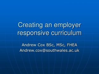 Creating a University Employer-Engagement Strategy