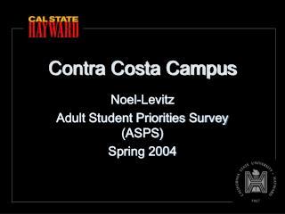 Contra Costa Campus