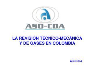 LA REVISI N T CNICO-MEC NICA  Y DE GASES EN COLOMBIA