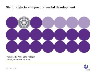 Giant projects   impact on social development