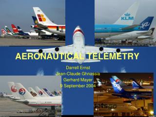 AERONAUTICAL TELEMETRY