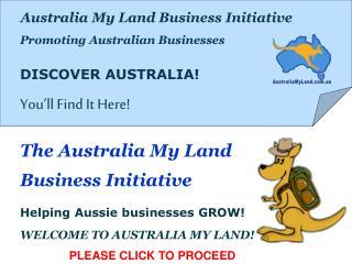 Australia My Land Business Initiative