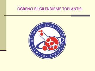 GRENCI BILGILENDIRME TOPLANTISI