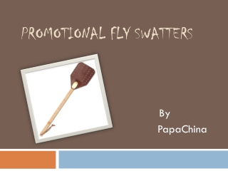 Promotional Fly swatters will Promote Your Business