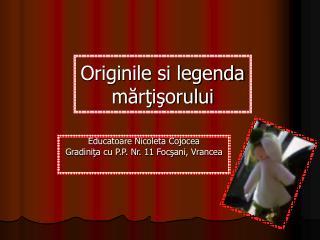 Originile si legenda martisorului