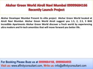 Akshar Green World, Akshar Green World Airoli, Akshar Green