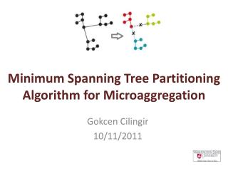 Minimum Spanning Tree Partitioning Algorithm for Microaggregation