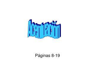 P ginas 8-19