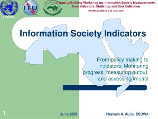 Information Society Indicators