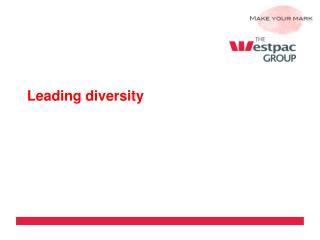Leading diversity