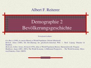 Demographie 2 Bev lkerungsgeschichte