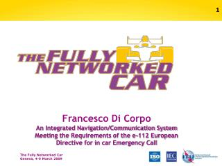 Francesco Di Corpo An Integrated Navigation