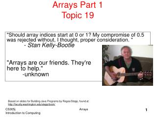 Arrays Part 1 Topic 19