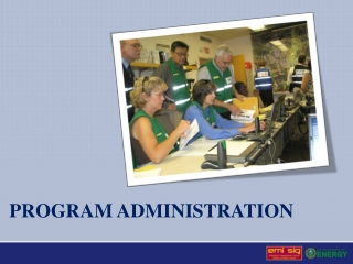 Program Administration I