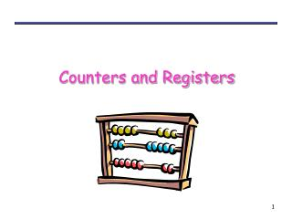Counters and Registers