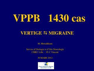 VPPB   1430 cas