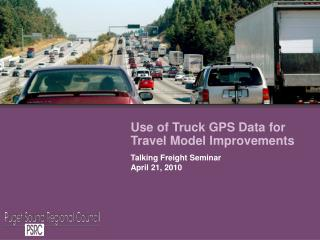 Use of Truck GPS Data for Travel Model Improvements