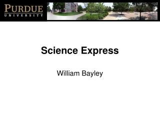 Science Express