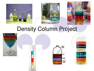 Density Column Project