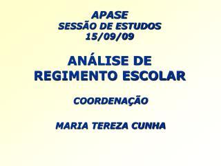 APASE SESS O DE ESTUDOS 15
