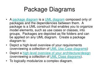 Package Diagrams