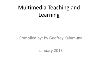 Using multimedia simulations to prepare teachers for integrating ICTs