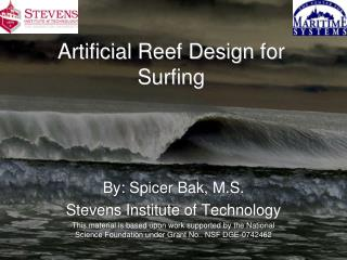 Artificial Reef Design for Surfing