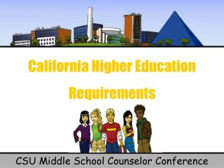 California Higher Education Requirements