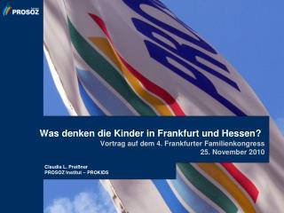 Was denken die Kinder in Frankfurt und Hessen