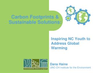 Carbon Footprints   Sustainable Solutions:
