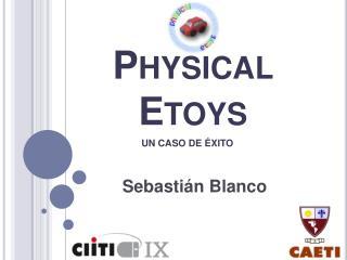 Physical Etoys