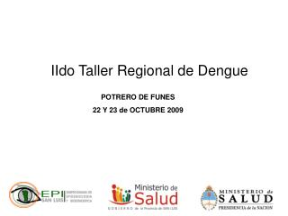 IIdo Taller Regional de Dengue