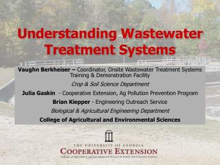 Understanding Wastewater Treatment Systems