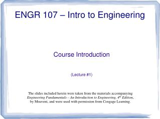 Course Introduction   Lecture 1