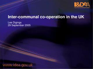 Inter-communal co-operation in the UK