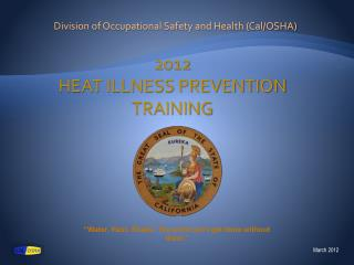 Division of Occupational Safety and Health Cal