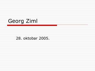 Georg Ziml