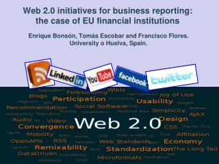Web 2.0 initiatives for business reporting: the case of EU financial institutions