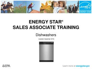 ENERGY STAR   SALES ASSOCIATE TRAINING