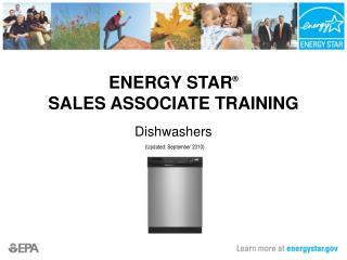 ENERGY STAR   SALES ASSOCIATE TRAINING