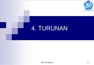 4. TURUNAN