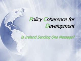 Policy Coherence for Development