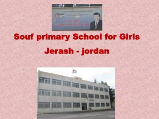 Souf primary School for Girls Jerash - jordan