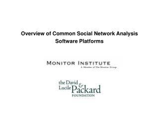 Overview of Common Social Network Analysis Software Platforms