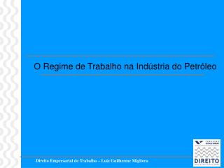 Direito Empresarial do Trabalho   Luiz Guilherme Migliora