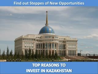 Find out Steppes of New Opportunities