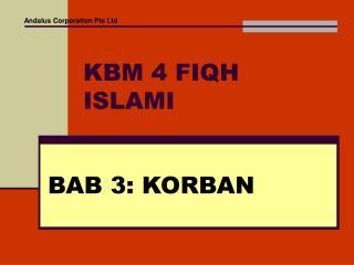 KBM 4 FIQH ISLAMI